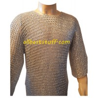 Round Washer Aluminum LARP Medium Size Chest 38