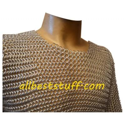 Aluminum Hauberk Butted XL Shirt Chest 48