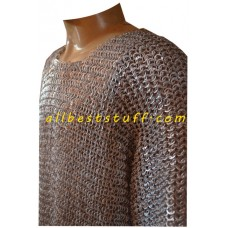 XXL Aluminum Chain Mail Flat Riveted Chest 60