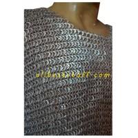 LARP Aluminum Maille Flat Riveted Chest 46