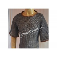 Full Flat Riveted Aluminum Chain Mail T-Shirt