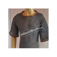 Full Flat Riveted Aluminum Chain Mail T-Shirt