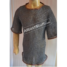 Flat Riveted Full Riveted Aluminum Chain Mail Shirt