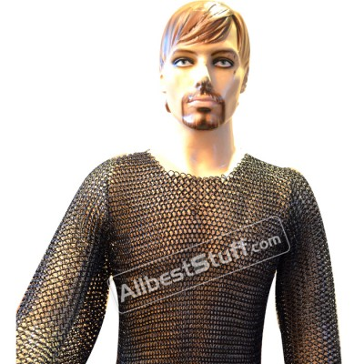 Butted Maille Shirt Medium Long Sleeves Chest 36