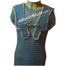Butted Steel Chain Mail Roman Hamata Chest 40