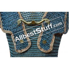 Butted Steel Maille Roman Hamata Small Length Chest 35