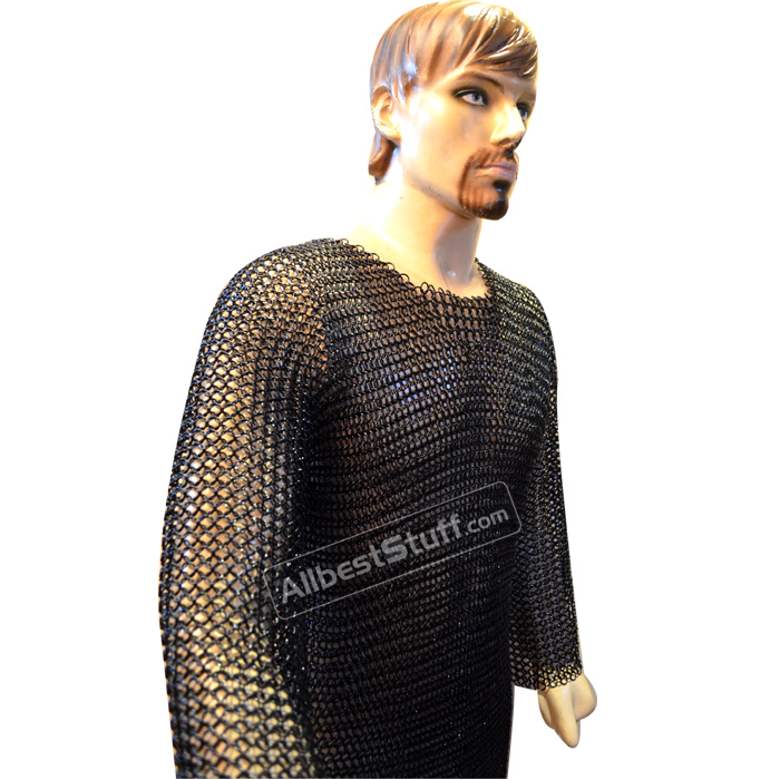 Large Butted Chain Mail Hauberk 16 Gauge Comfort fit for Chest 44