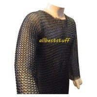 XXXL Butted Cain Mail Hauberk Heavy Armour Comfort Chest 60