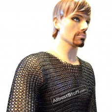 Medieval Knight Armour Butted Chain Maille Shirt Large Chest 45