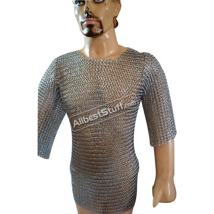 Butted Chain Mail Shirt Medium Maille Medium Length Chest 30