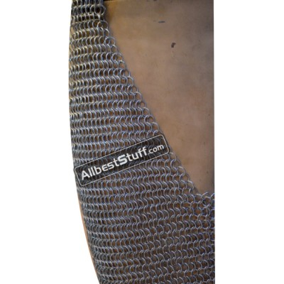 Aluminum Butted Chain Mail Chausses Medium