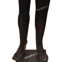 Dense Chain Mail Leg Protection Medium Chausses 6 MM