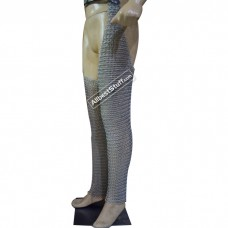Large Size Aluminium Butted Legging with Shoe Cover