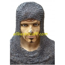 6 mm Round Riveted Flat Washer Chainmail Coif