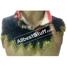 6 MM Maille Collar High Neck