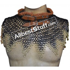 Chain Mail Collar Butted with Alternating Solid Ring