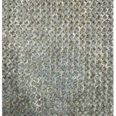 20 X 20 inch Square 18 G 9 MM Stainless Steel Maille Sheet