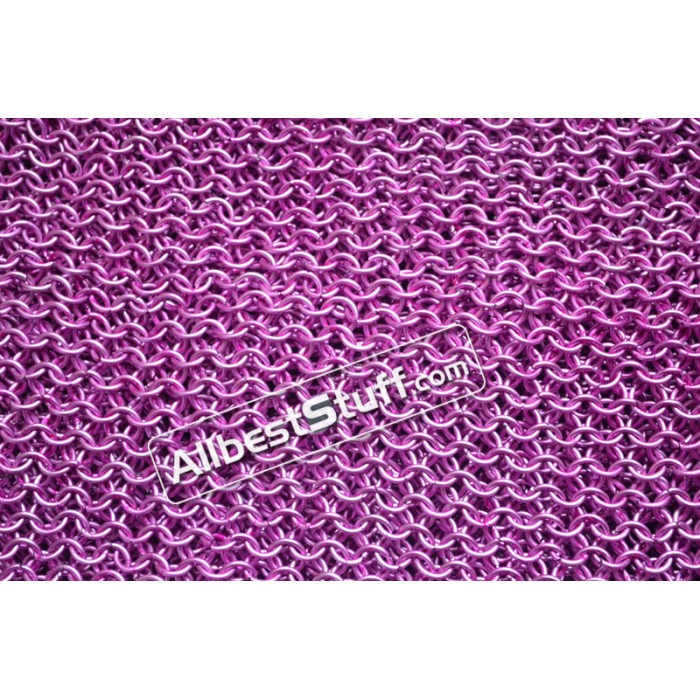 Butted Aluminum Light Pink Anodized Sheet