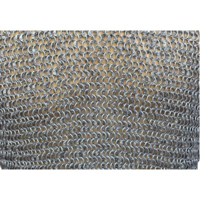 Full Round 8 MM 17 Gauge Maille Sheet 20 X 10 inch