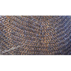Full Round 9 MM 16 Gauge Chain Mail Sheet 20 X 10 inch