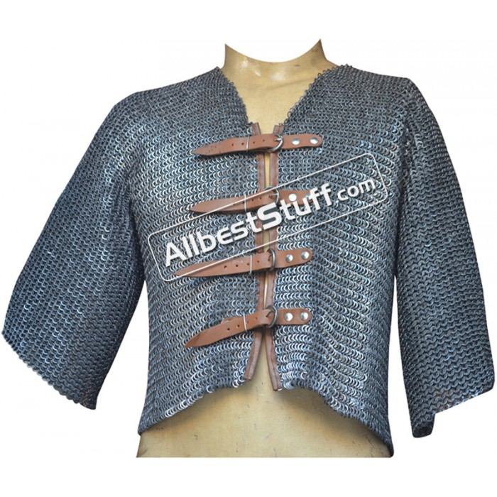 Waistcoat Style Chain Mail Voiders reference Pisanello Painting
