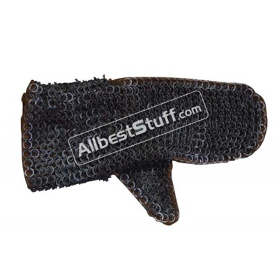 Stainless Steel Flat Riveted Rust Proof Chain Mail Mittens