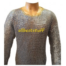 Ancient Maille Armour Replica 8 mm Flat Riveted Chest 50