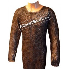 Dense Ring Maille 46 inch Long Sleeve 6 MM Maille