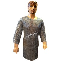 Knight Armour Viking Maille 8 mm Flat with Alternate Solid Chest 40
