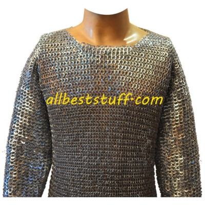 SCA Armour Long Maille 8 mm Knight Armour Chest 50