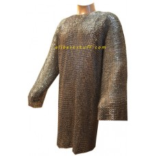 Viking Maille Suit 8 mm Chainmail XL Chest 50 Long Sleeve