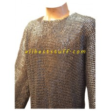 Vikings Armour Flat Dome Riveted All Riveted Hauberk for Chest 38