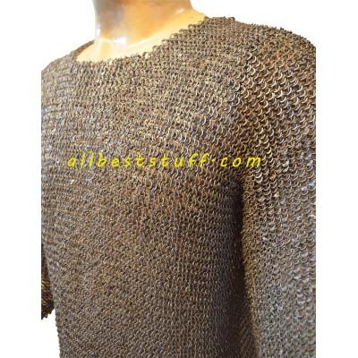 Viking Vest 6 MM Dense Chain Mail Shirt Chest 44