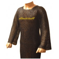Maille Armour Round Riveted Steel Actual Chest 44