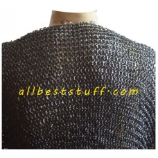 9 mm Round Riveted Chain Mail XXL Chest 58