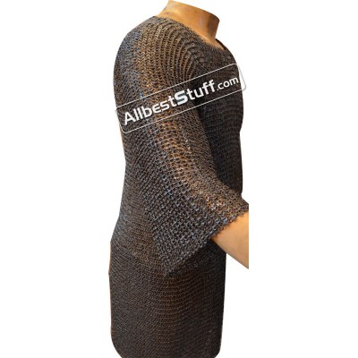Full Sleeve Chest 50 Long Length Maille 6 MM Round Riveted