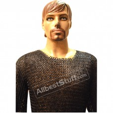 Medieval Knight Round Rivet Solid Ring Chain Mail XL Chest 55