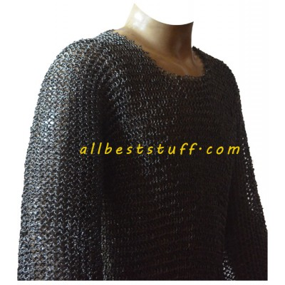 Round Pin Riveted Chain Mail Knight Armour Maille Chest 42
