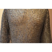 Viking Chainmail Shirt Chest 46 Long Sleeve & Length