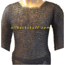 Extra Large Steel Historically Correct Chain Maille Armour Chest 66
