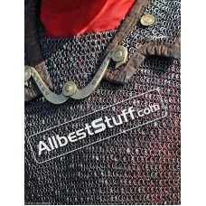 Chain Mail Hamata 6 MM Round Riveted Solid Chest 48