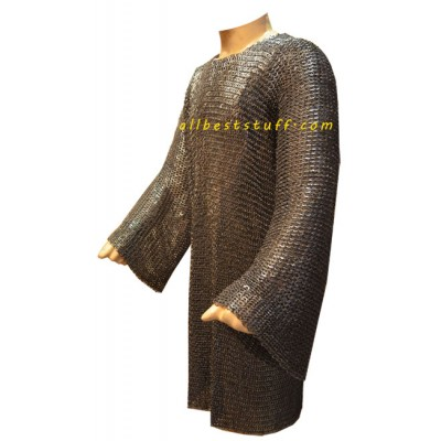 Long Sleeve Stainless Steel Maille Large Chest 52