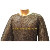Stainless Steel Maille Armour Flat Riveted Chest Size 56