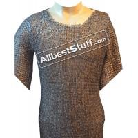 46 Chest Titanium Maille Shirt Flat Riveted
