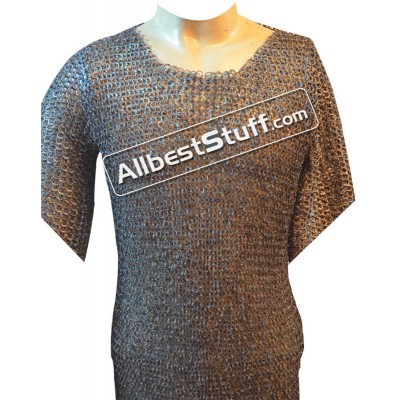 46 Chest Titanium Maille Shirt Flat Riveted