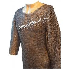 Long Sleeve Titanium Mail Shirt Chest 44