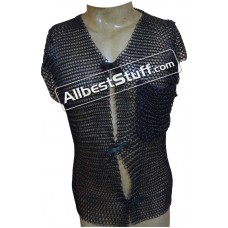 Butted Maille Shirt Short Length with Pocket