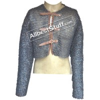 Titanium Chain Mail Half Shirt 3 Buckle