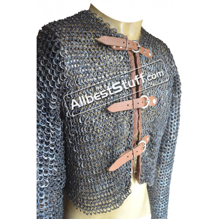 Titanium Maille Half Shirt Chest 40