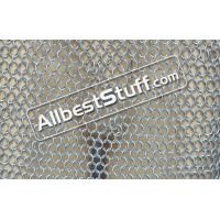 Aluminium Butted Rings Maille Hood